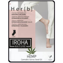 Iroha Foot Socks Mask Cannabis Lábmaszk