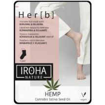 Iroha Foot Socks Mask Cannabis Lábmaszk