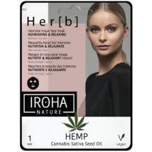 Iroha Cannabis Fátyolmaszk