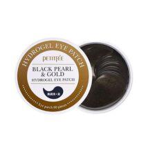 Petitfée Black Pearl & Gold Hydrogel Szemtapasz