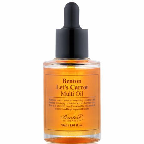 Benton Let's Carrot Multi Oil - Arcápoló olaj