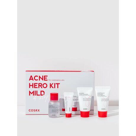 COSRX Acne Hero Kit Mild 4 lépéses arcápoló készlet