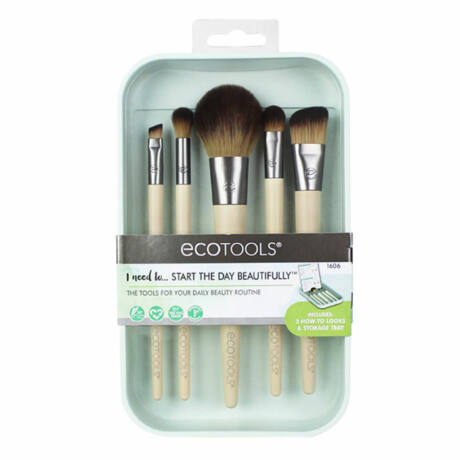 EcoTools Start The Day Beautifully 6 részes sminkecset készlet
