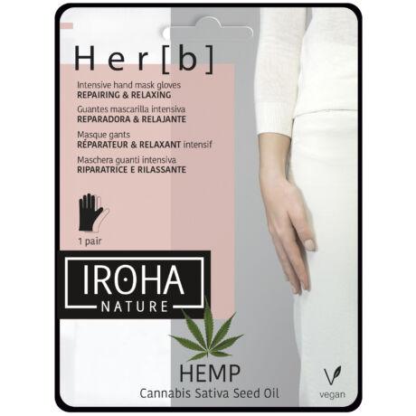 Iroha Hand & Nail Cannabis Kézmaszk