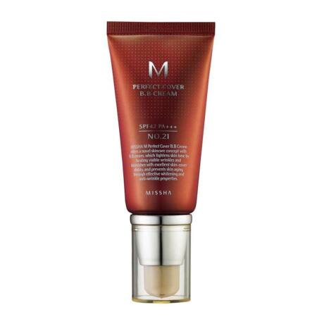 MISSHA Perfect Cover BB Cream SPF 42/ PA++++ / No. 21 Light Beige