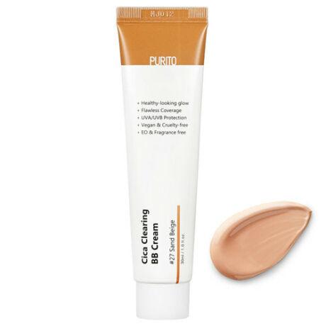 Purito Cica Clearing BB Cream SPF38 PA+++ 27 Sand beige