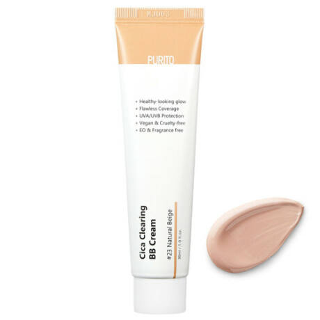 Purito Cica Clearing BB Cream SPF38 PA+++ 23 Natural beige