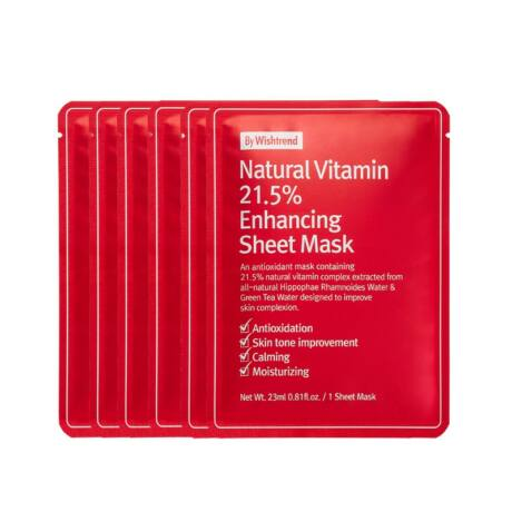 By Wishtrend Natural Vitamin 21,5% Mask
