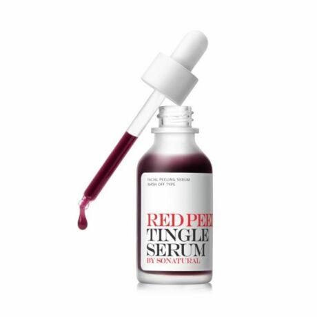 So'Natural Red Peel Tingle Hámlasztó Szérum